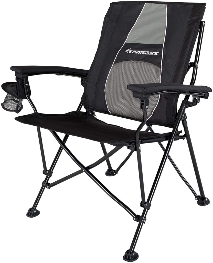 STRONGBACK Elite Folding Camping Lawn Lounge Chair