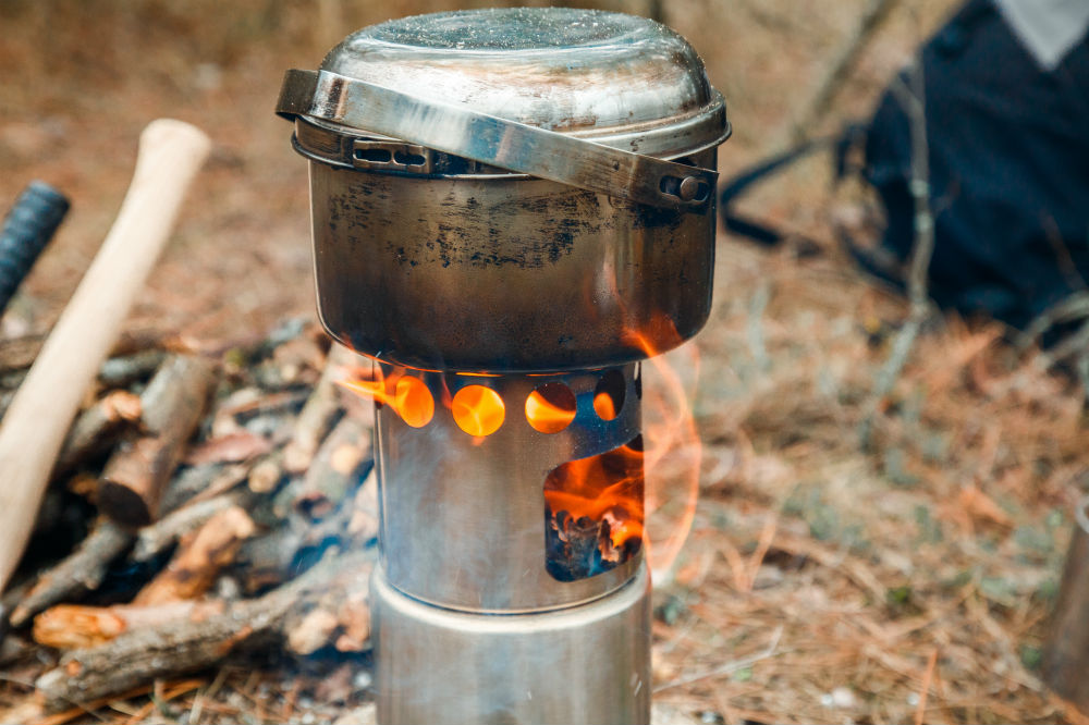 how to boil water while camping 1