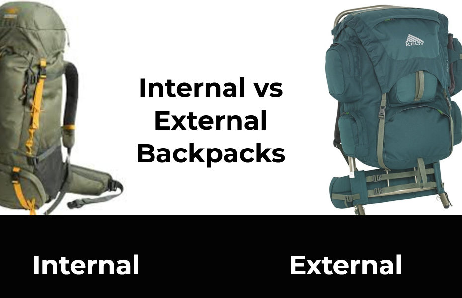 Internal vs External Backpacks