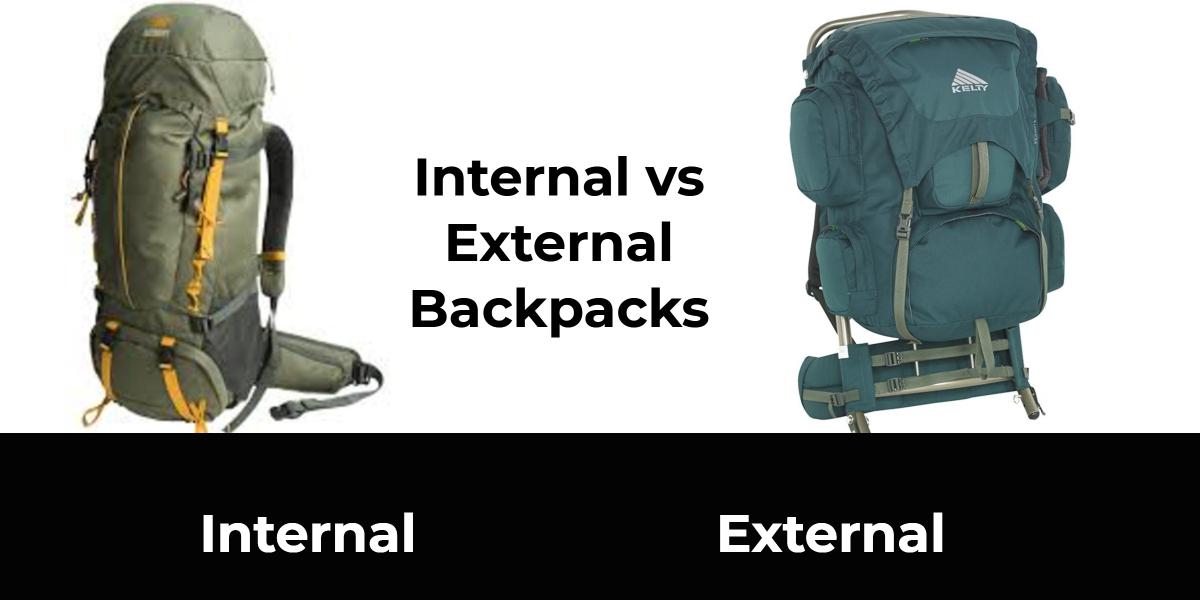 Internal vs External Backpacks