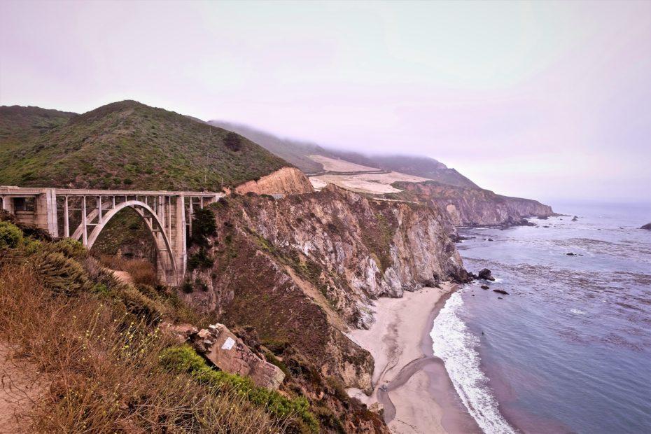 bridge near the sea during daytime