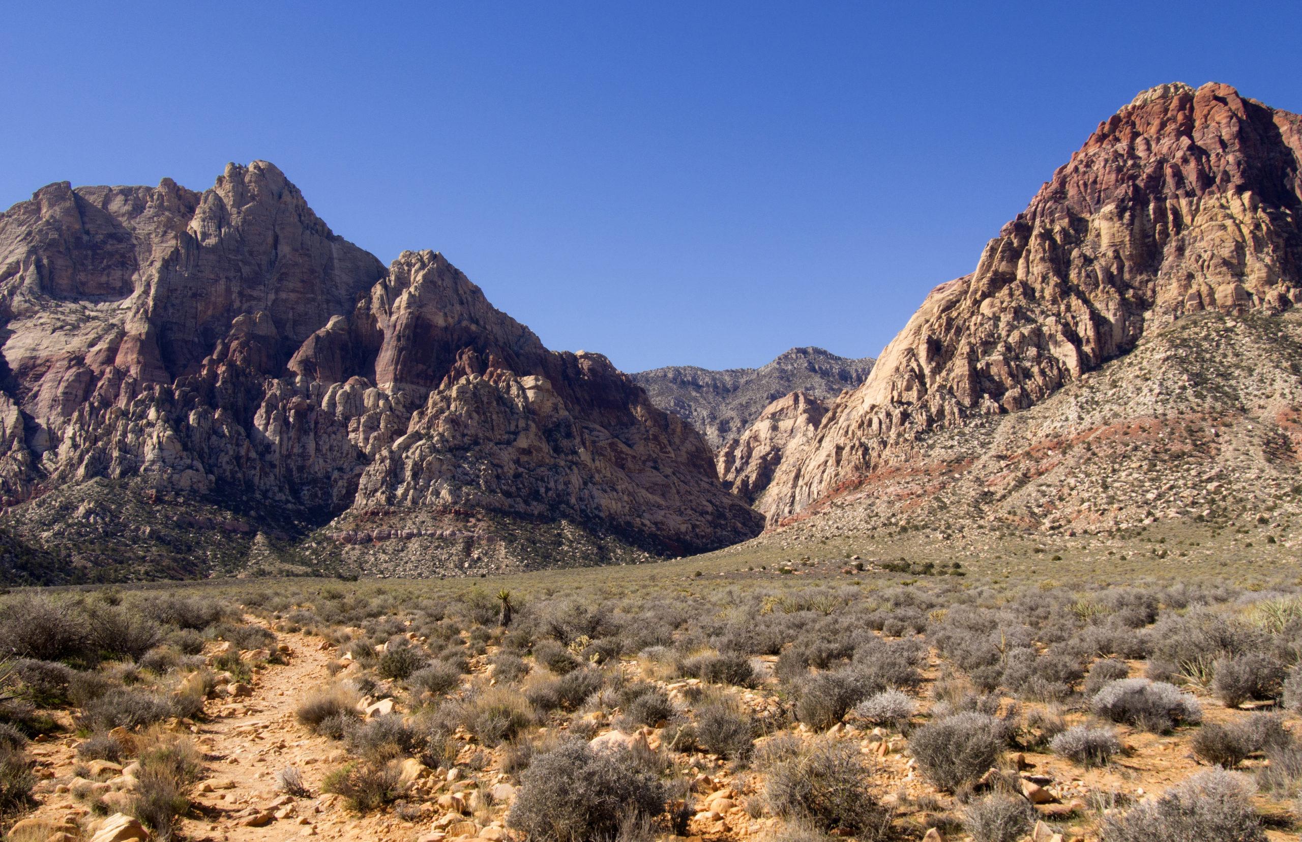 Oak Creek Canyon In Nevada Red Rock Canyon