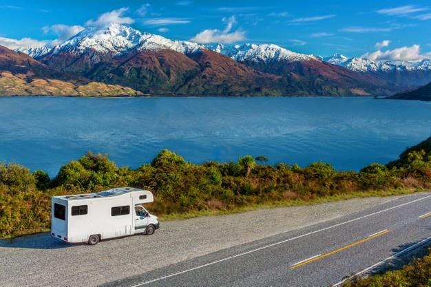 rv across the lake